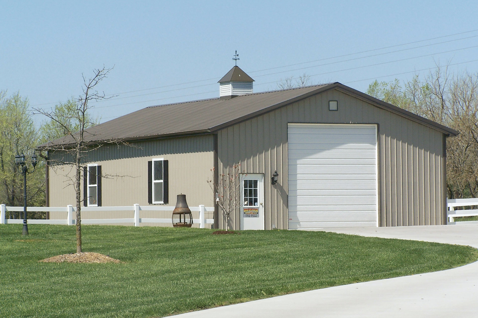 Cost effectiveness metal building contractormetal for Barns garages
